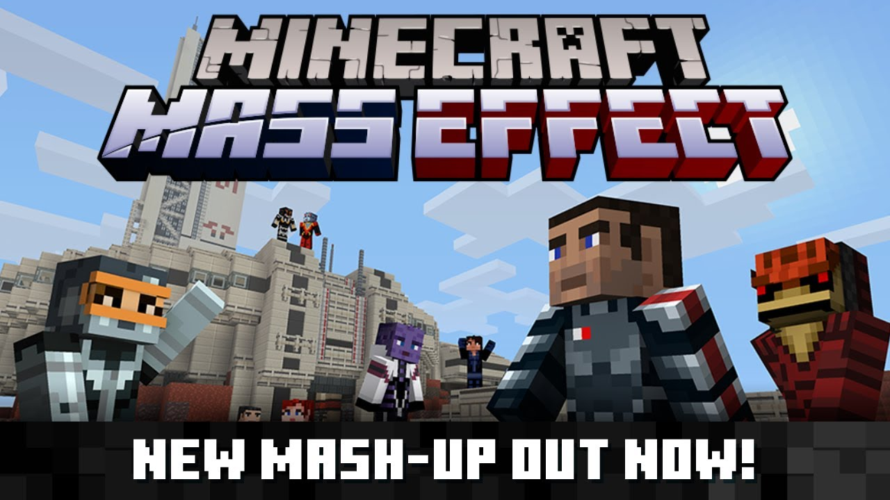 Minecraft Mass Effect Mash-Up Pack Out Now On Nintendo Switch