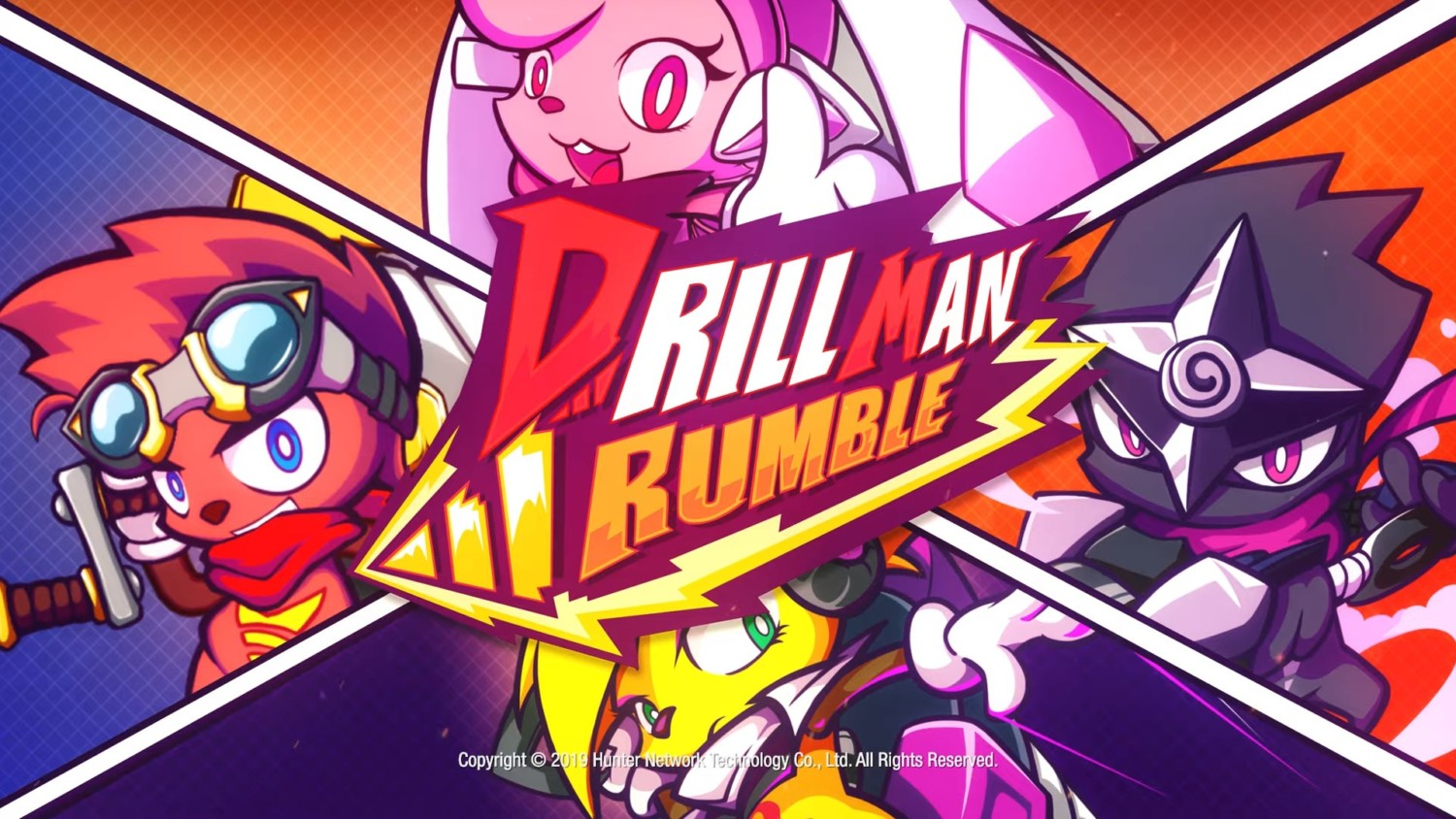 Drill Man Rumble Announced For Switch, Launches 2020   NintendoSoup