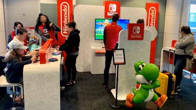 Video: Nintendo Switch Lounge At Seattle Sea-Tac Airport   NintendoSoup