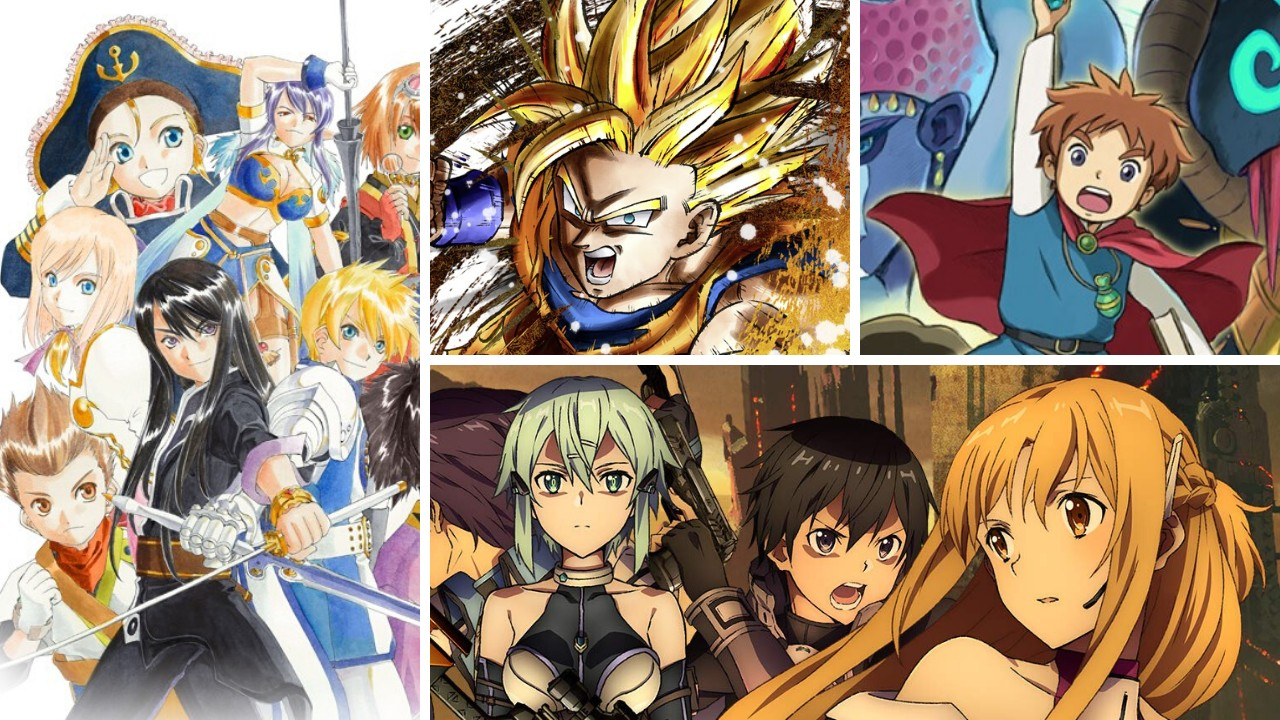 Bandai Namco Anime Sale Now Live On Switch eShop, Up To 75% Off Select Titles | NintendoSoup