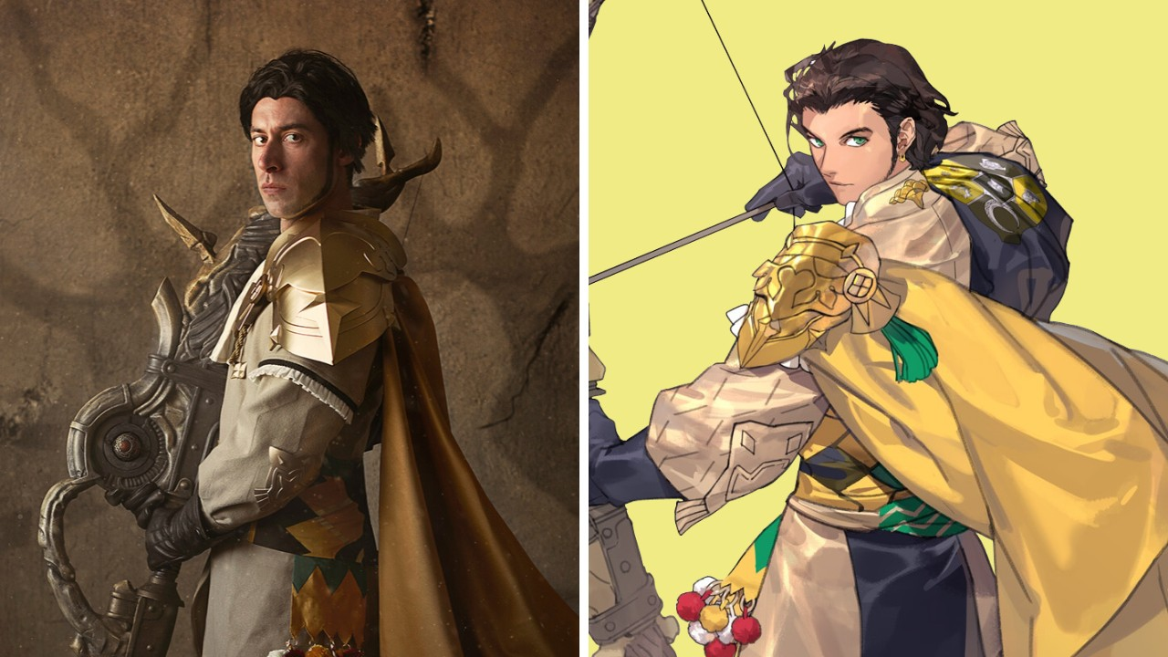 Random: Claude's Voice Actor From Fire Emblem Three Houses Cosplays As Claude Himself   NintendoSoup