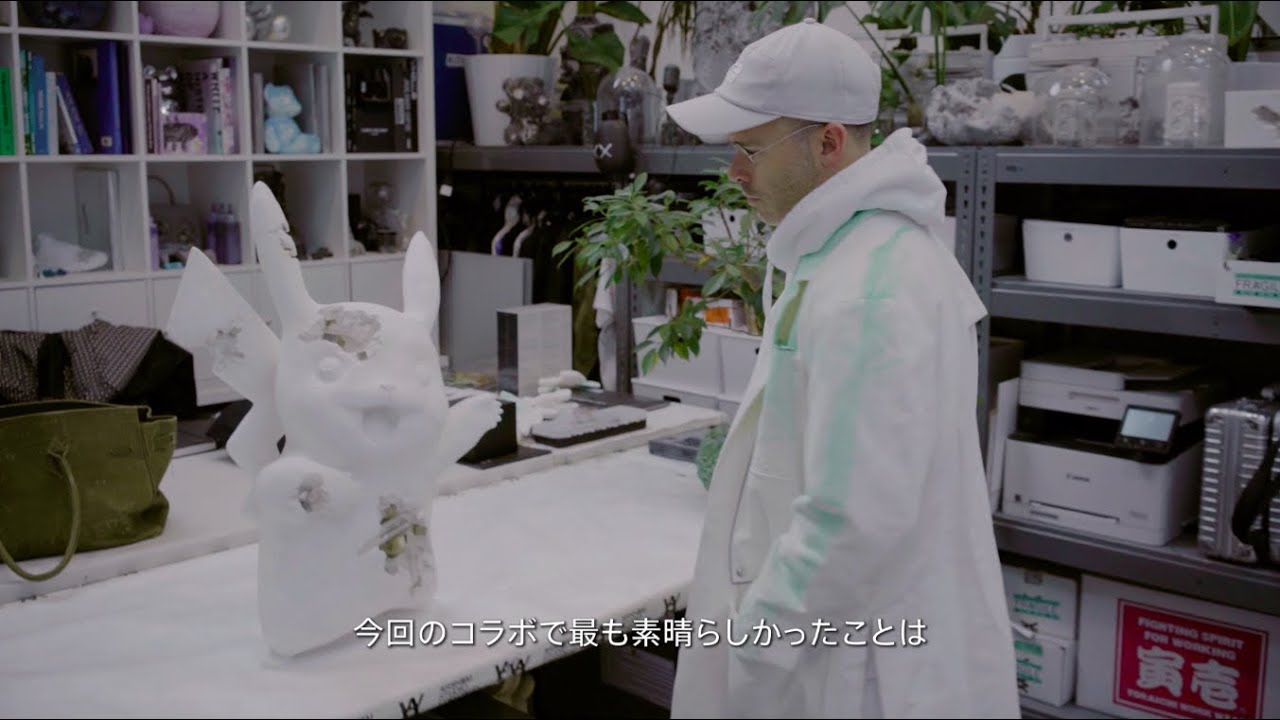 Daniel Arsham Teams Up With Pokemon For An Art Project | NintendoSoup