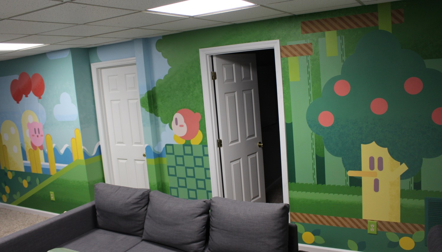 Artist Gives Their Home A Kirby Makeover   NintendoSoup