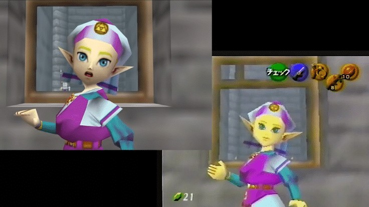 VHS Tape Shows Us Beta Images From The Legend Of Zelda: Ocarina Of Time | NintendoSoup