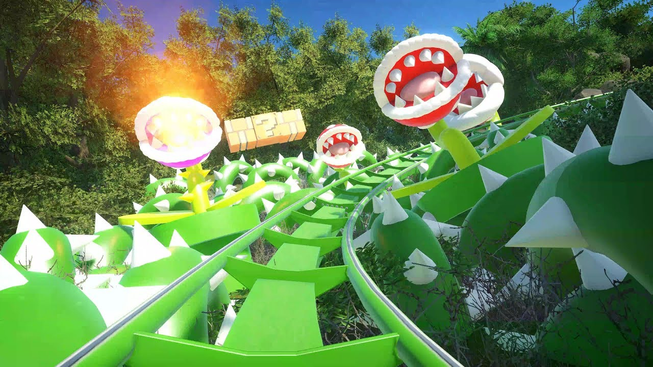 Ride This Epic Super Mario Odyssey Rollercoaster In Planet Coaster   NintendoSoup