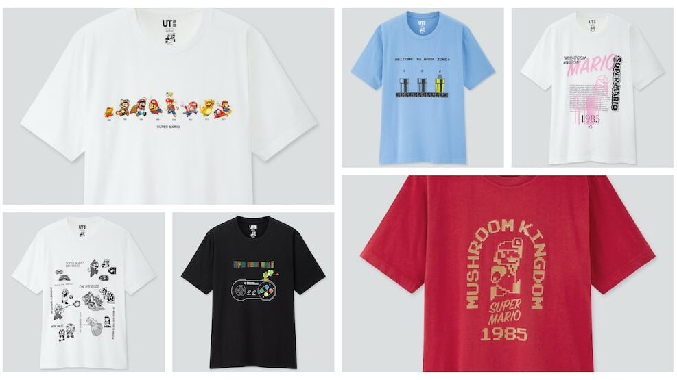 Uniqlo To Launch A New Super Mario Clothing Line In April 2020 | NintendoSoup
