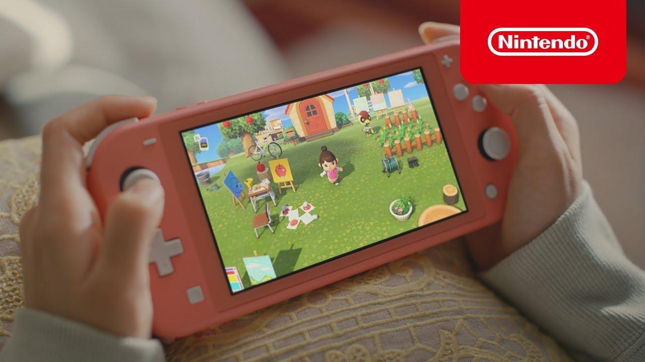 Video: Animal Crossing New Horizons X Nintendo Switch Lite Commercial | NintendoSoup