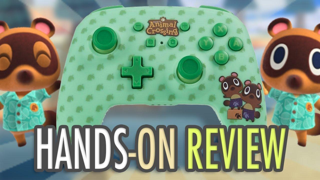Video: PowerA Animal Crossing Nintendo Switch Controller   NintendoSoup