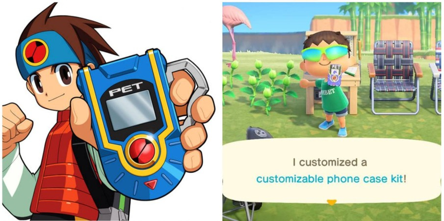 Transform Your Animal Crossing NookPhone Into A Mega Man Battle Network PET With This Custom Design | NintendoSoup
