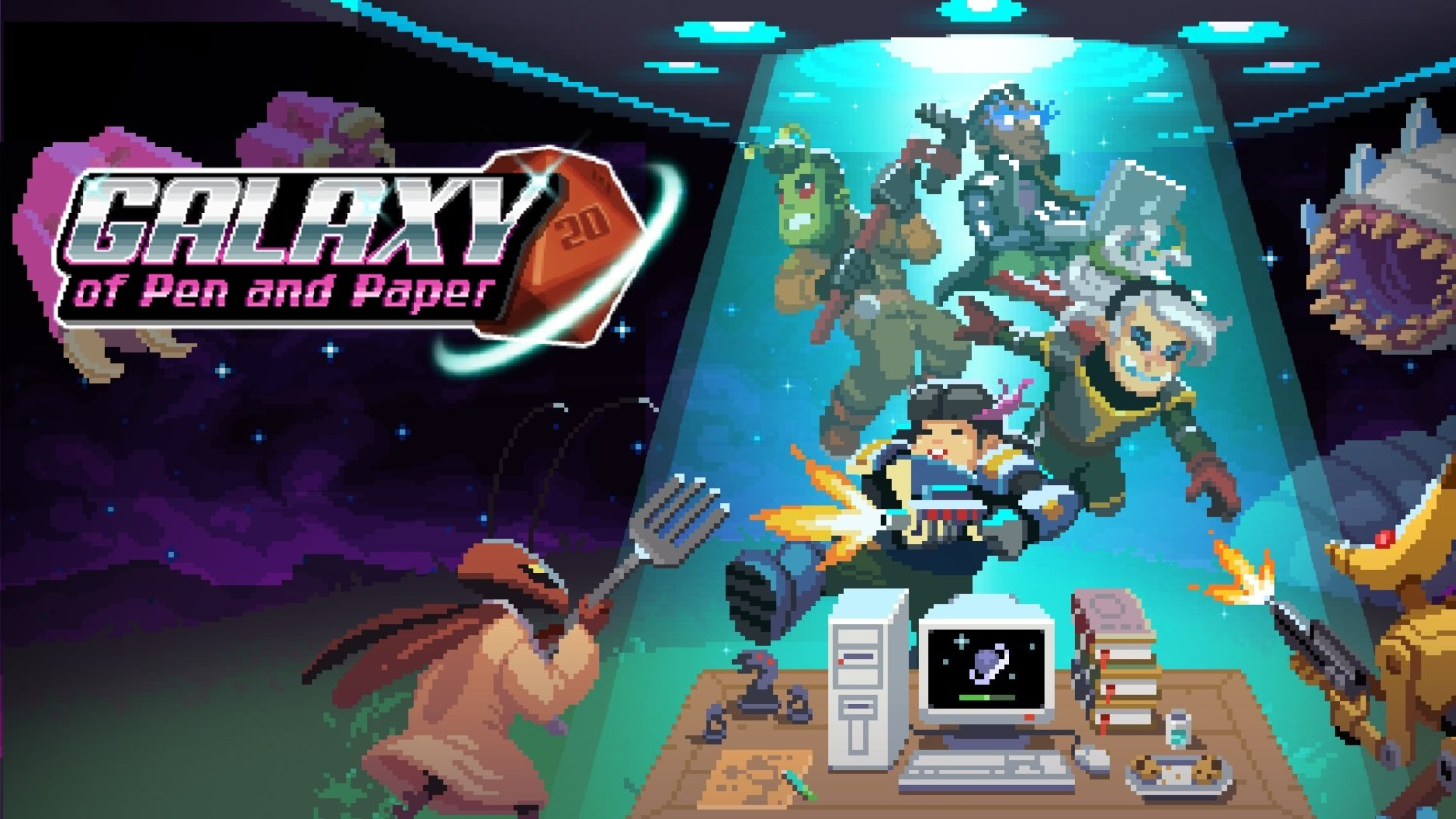 Galaxy Of Pen & Paper Heading To Switch On April 8, 2020   NintendoSoup