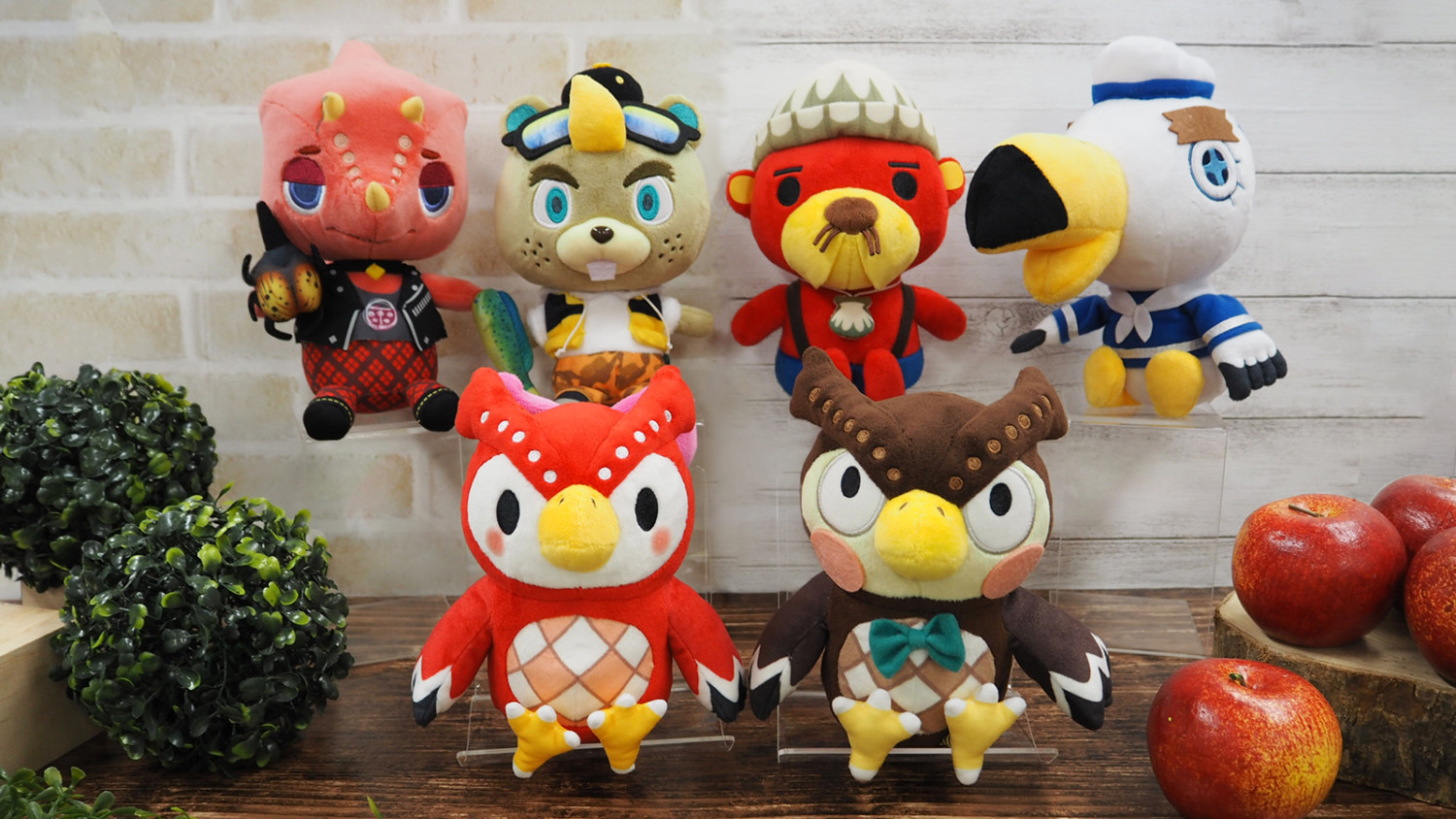 Animal Crossing All-Star Collection Plushies For Flick, C.J., Pascal, Gulliver, Celeste, And Blathers Announced