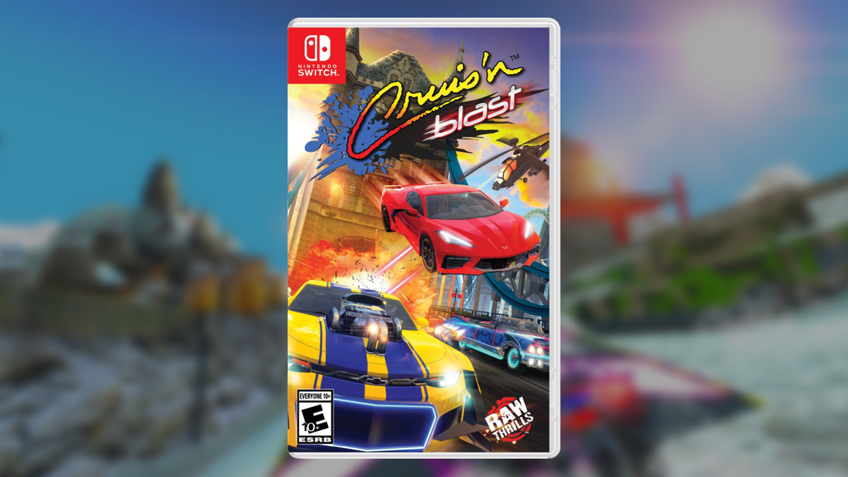 Cruis'n Blast Switch Physical Release Confirmed, Cover Art Revealed | NintendoSoup