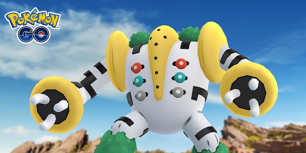 Pokemon GO: Regigigas Now In Five-star raids | NintendoSoup