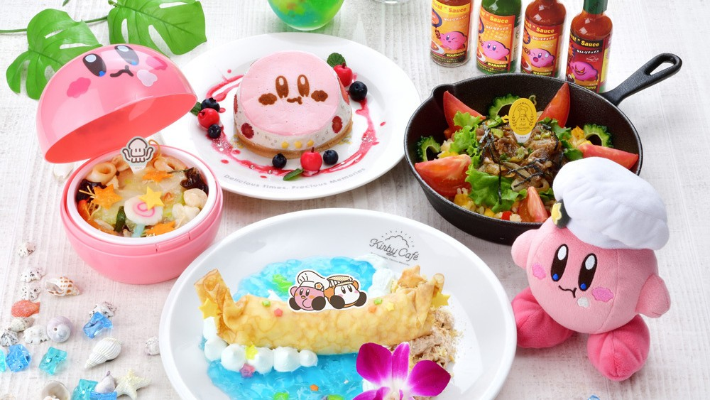 Kirby Cafe Japan Teases New Menu Items For Summer 2021