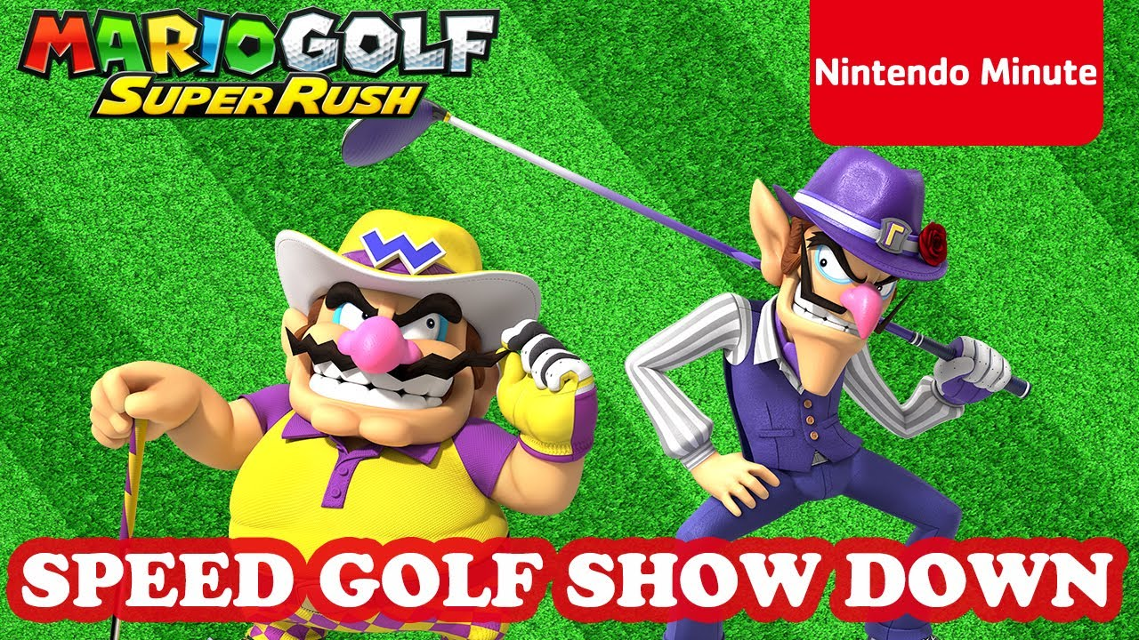 Nintendo Minute Takes A Look At Some Mario Golf: Super Rush Gameplay | NintendoSoup